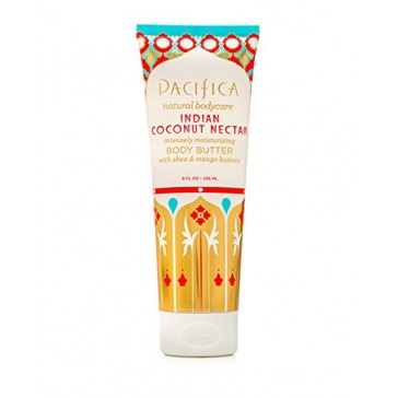 Pacifica Body Butter Tube, Indian Coconut Nectar, 8 Ounce