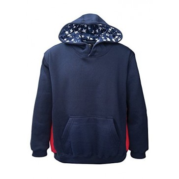 Akwa Partiotic Pullover Hoodie Made in USA
