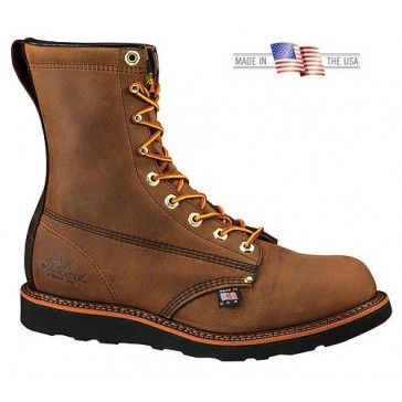 """Men's Thorogood® 8"""" American Heritage Wedge Boots, CRAZY HORSE, 13"""