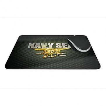 "Mouse Pad -US Navy Seals- Full Color Anti-Slip Rubber Backed Mousepad ""Made in USA"""
