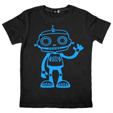 Hank Player 'Big Robot' Kid's T-Shirt (2T, Black)