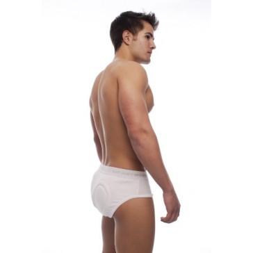 Go Softwear Super Padded Butt Brief-Black (Small)