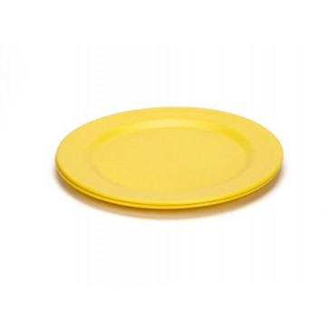 Green Eats 2 Pack Plates, Yellow