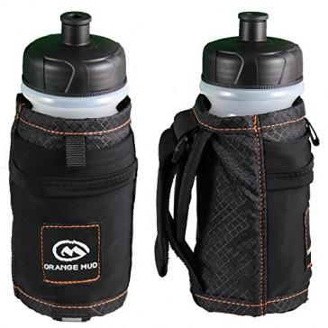 Orange Mud Handheld Bottle Holder - 21oz Black