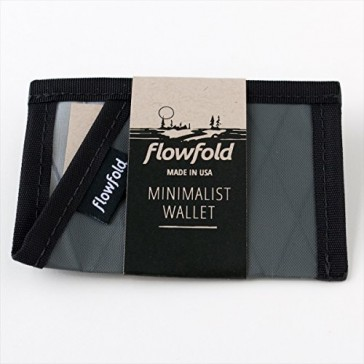 Flowfold Minimalist Limited Slim Front Pocket Card Holder Wallet