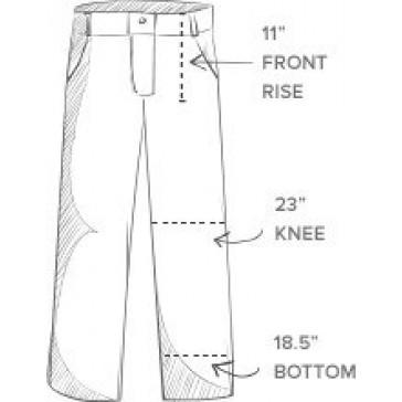 The Fine Swine Men's Bill's Khakis Original Twill M1 Pants 32 British khaki