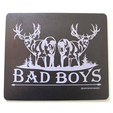 "BAD BOYS Mull Deer Mouse Pad - King's Hunting Large ""Made in the USA"""