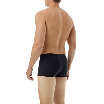 Underworks Microfiber Light Compression Boxer 3-Pack X-Small Black