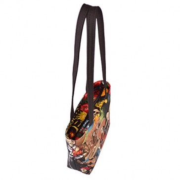 Spanish Skeletons Party Print Small Tote Bag Handbag - 100% Hand Made in the USA