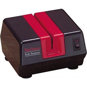 Mcgowan Firestone Electric Sharpener, Black/Red