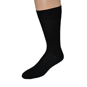 Men's Dress Nylon Classic Dress Sock - 4pr Pack - Made in USA