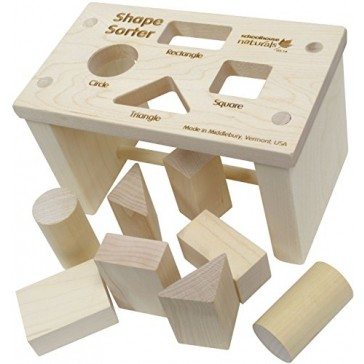 Shape Sorter Bench - Made in USA