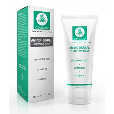 OZNaturals Facial Mask - This Moisturizing Face Mask Contains Rosehip Oil, Pro Vitamin B5 & Amino Acids - This Anti Aging Mask Deeply Hydrates Dry Skin For A Healthy Youthful Glow!