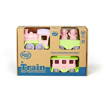 Green Toys Train, Pink/Green