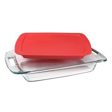 Pyrex Portables 9-Piece Double Decker Glass Bakeware and Food Storage Set