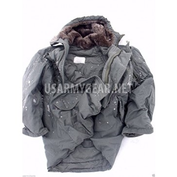 New Made in USA Military ECW Extreme Cold Weather N-3B Snorkel Parka Army Jacket GI (Large)