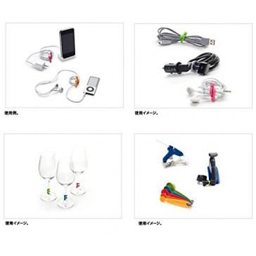 Nite Ize Original Gear Tie Reusable, 3-Inch Rubber Twist Tie, Assorted Colors, 4-pack