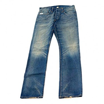 Ralph Lauren Double RL RRL Mens Denim Slim Bootcut Selvedge Jean Pants USA 24/34