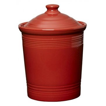 Fiesta 2-Quart Medium Canister, Scarlet