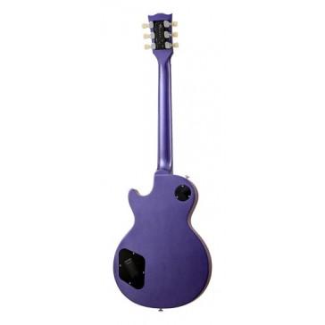 Gibson USA LPFAPU5RC1  LP Futura Plain Top 2014 Plum Insane Vintage Gloss Solid-Body Electric Guitar