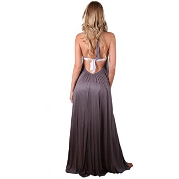 Ingear Tent Maxi Dress Cover Up (Small/Medium, Gray)