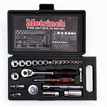Metrinch Combination Socket 25 Piece Set