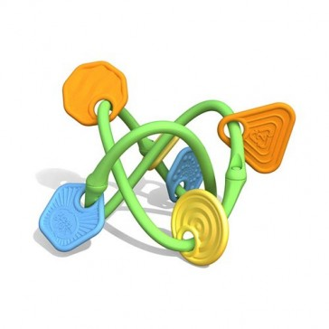 New - Green Toys Twist Teether