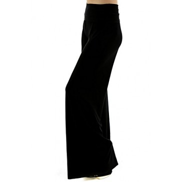 Los Angeles Premium Solid Color LA Palazzo Pants- Regular and PLUS