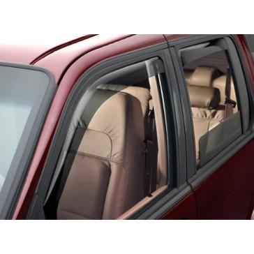 WeatherTech Custom Fit Front & Rear Side Window Deflectors for Dodge Ram 1500, Dark Smoke