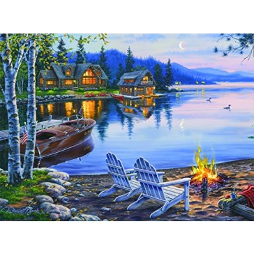 Buffalo Games Darrell Bush: Lake Reflection - 1000 Piece Jigsaw Puzzle by Buffalo Games