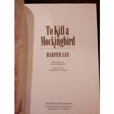 To Kill a Mockingbird (Reader's Digest the World's Best Reading)