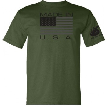 Made in USA T-Shirt - Military Green - 2XL