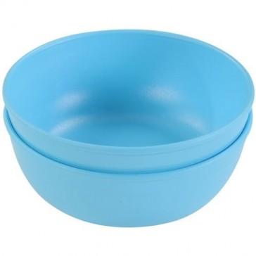 Green Eats(TM) 16 oz. Bowls - Blue (Set of 4)