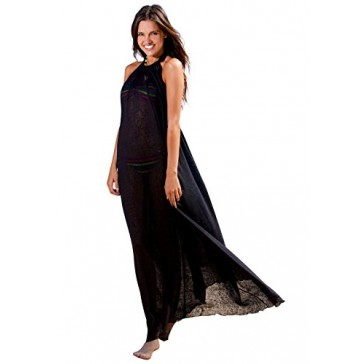 Ingear Tent Maxi Dress (Small/Medium, Black)