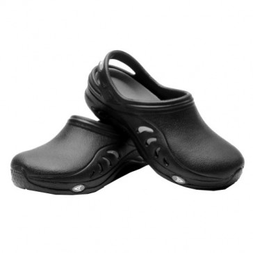 Sloggers 302BK09 Mens Unisex Garden Sandal, Black, Size 9