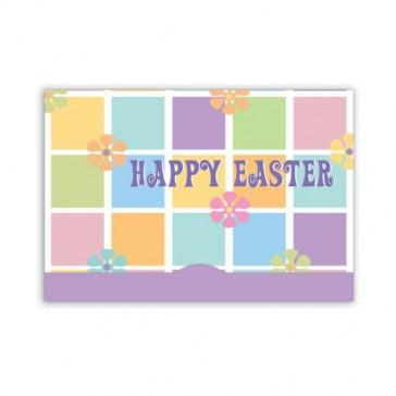 Jillson Roberts Gift Card Holders, Easter Quilt, 6-Count (GCP029)