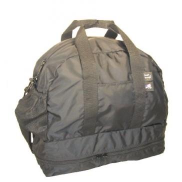 Tough Traveler Fitness Satchel - Made in USA - Black