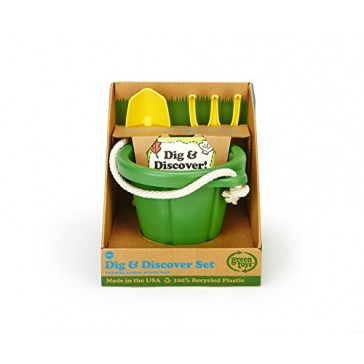 Green Toys Dig and Discover Set, Green/Yellow