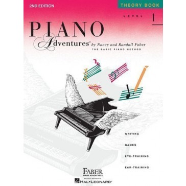 Piano Adventures Theory Book, Level 1 2nd (second) Edition published by Faber Piano Adventures (1993) Paperback