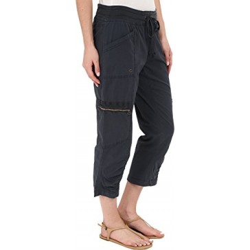 XCVI Women's Emerson Crop Charcoal Pants XS (Women's 0-2) X 23