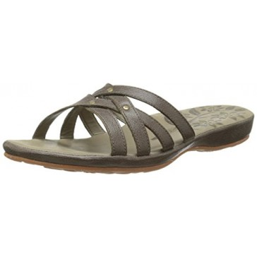 KEEN Women's City Of Palms Slide Sandal, Cascade Brown, 5 M US