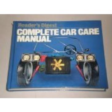 Reader's Digest Complete Car Care Manual