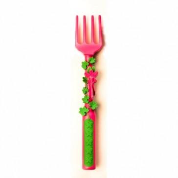 Constructive Eating Garden Fairy Vines Rake Fork Utensil