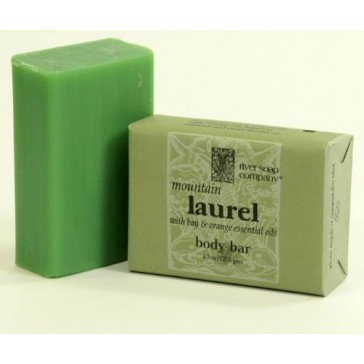 River Soap Co. Mountain Laurel Triple Milled All Vegetable 4.5 oz.