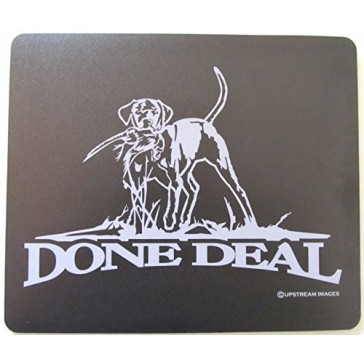 "DONE DEAL Bird Dog Retriever Mouse Pad - King's Hunting Large ""Made in the USA"""