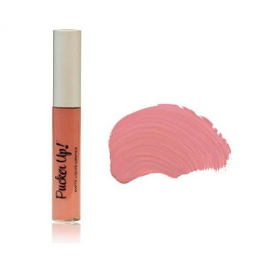 Dinair Matte Liquid Lipstick Lipstain | Whisper Muted Rose