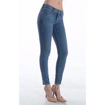 Just USA Women's Skinny Ankle Length Jean 24 Medium Blue