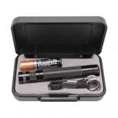 Mag Instruments Maglite Solitaire LED AAA Flashlight Presentation Box, Black