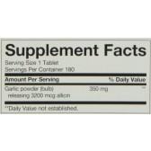 Nature's Way Garlicin, 180 Tablets