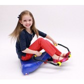 Blue Sport Roller Racer - Riding Scooter